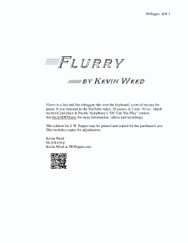 Flurry for Piano
