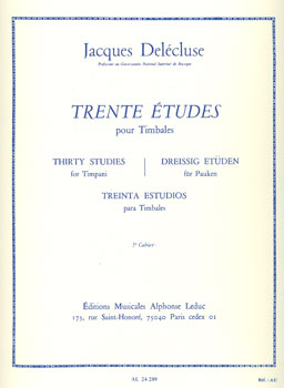 30 Etudes for Timpani #3