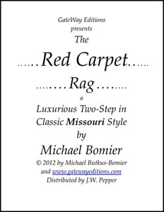 The Red Carpet Rag