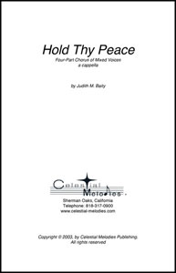 Hold Thy Peace