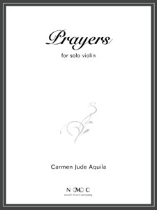 Prayers for Solo Violin
