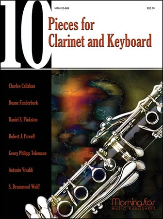 10 Pieces for Clarinet and Keyboard