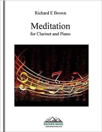 Meditation for Clarinet and Piano