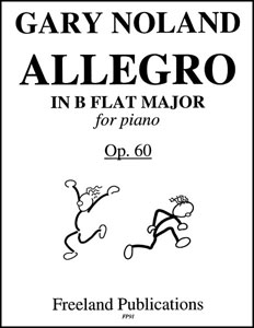 Allegro in B Flat Major Op. 60