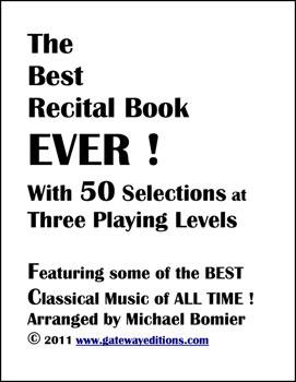 The Best Recital Book EVER!