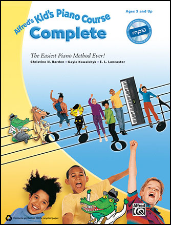 Alfred Kid's Piano Course Complete