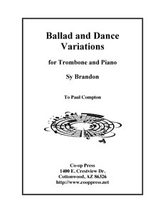 Ballad and Dance Variations