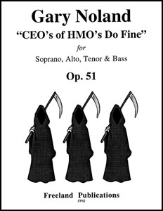 CEOs of HMOs Do Fine Op. 51