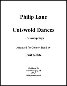 Cotswold Dances Movt. 1 Seven Springs