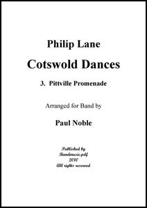 Cotswold Dances Movt. 3 Pittville Promenade