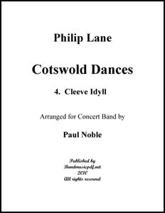 Cotswold Dances Movt. 4 Cleeve Idyll