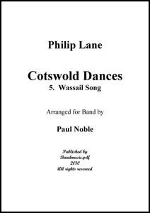 Cotswold Dances Movt. 5 Wassail Song