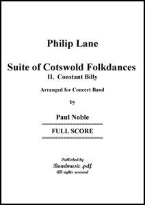 Suite of Cotswold Folk Dances Movt. 2 Constant Billy