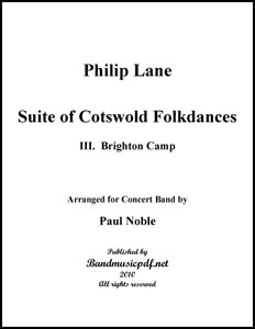 Suite of Cotswold Folk Dances Movt. 3 Briton Camp
