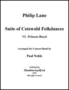 Suite of Cotswold Folk Dances Movt. 6 Princess Royal