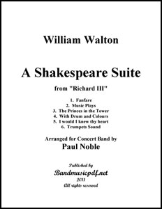 A Shakespeare Suite in 6 Movements.