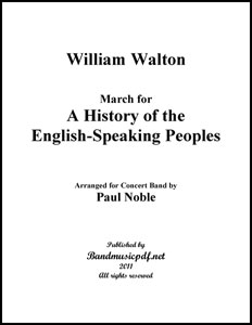 March For a History of the English Speaking Peoples