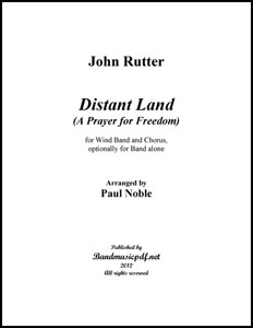 Distant Land (A Prayer for Freedom)