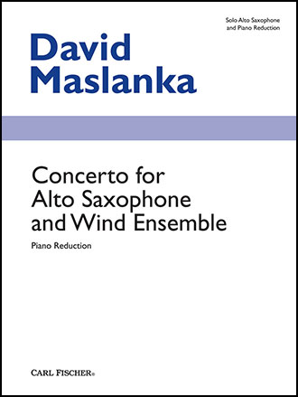 Concerto for Alto Sax and Wind Ensemble