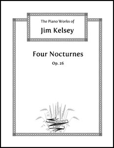 Nocturnes for Solo Piano Op. 26