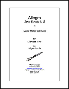 Allegro from Sonata in G