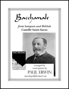 Bacchanale from Sampson and Delilah