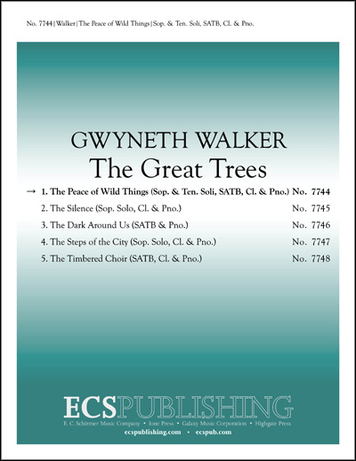 The Great Trees : Mvt. 1 Peace of Wild Things