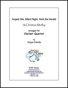 Angels We, Silent Night, Hark the Herald