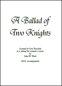 A Ballad of Two Knights