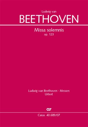 Missa Solemnis, Op. 123 Cover