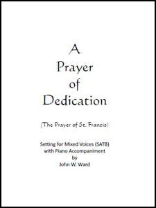 A Prayer of Dedication