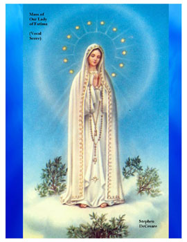 Mass of Our Lady of Fatima