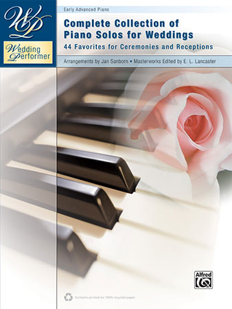 Wedding Sheet Music for Piano | Sheet music at JW Pepper