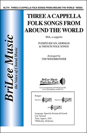 Three A Cappella Folk Songs from Around the World | J W  Pepper