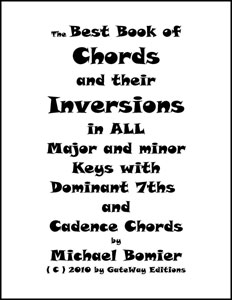 The Best Book of Chords and Their Inversions