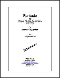 Fantasie for Clarinet Quartet