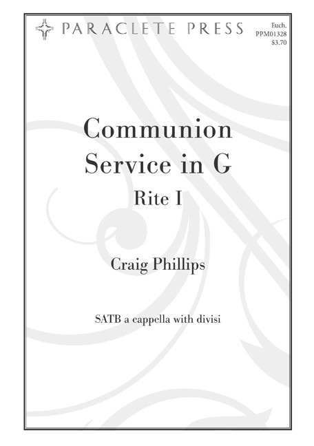 Communion Service in G #1
