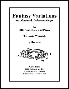 Fantasie Variations on Mazurek Dabrowskiego Thumbnail