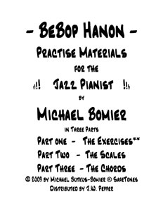 BeBop Hanon Part One:The Exercises