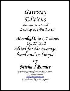 Sonata Op.27, No.2 in C# minor
