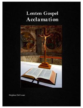 Lenten Gospel Acclamation