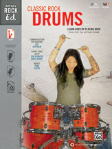Alfred's Rock Ed: Classic Rock Drums No. 1