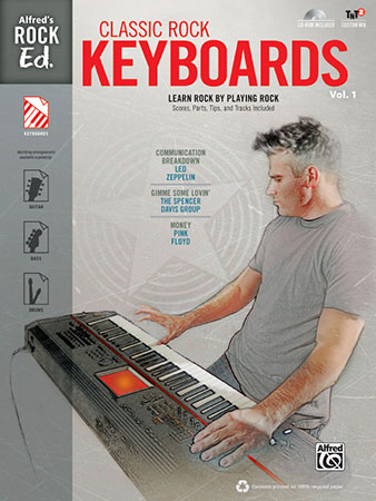 Alfred's Rock Ed. Classic Rock Keyboards, No. 1