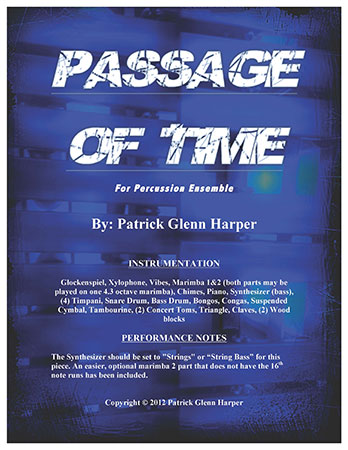 Passage of Time for Percussion Ensemble