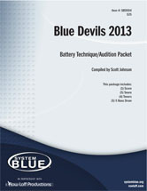 Blue Devils 2013 Audition Pack