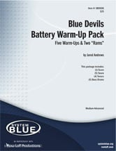 Blue Devils Battery Warm-Up Pack