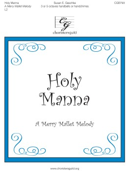 Holy Manna  handbell sheet music cover