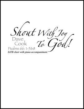 Shout with Joy to God!
