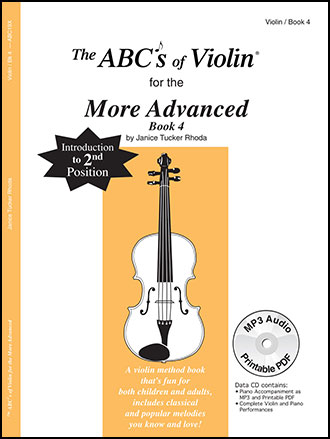 ABC's of Violin Book 4 Revised