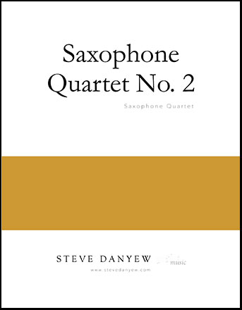 Saxophone Quartet No. 2